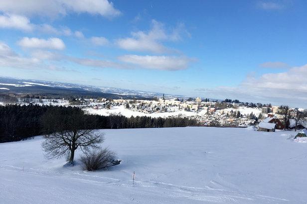 Skiwelt Sch - © iPhone von Andreas