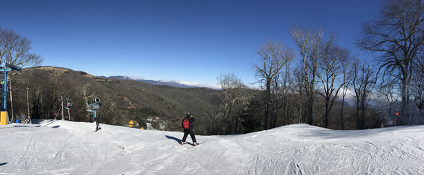 Cataloochee Ski Area - Great day of skiing at the Cataloochee  - © iPhone
