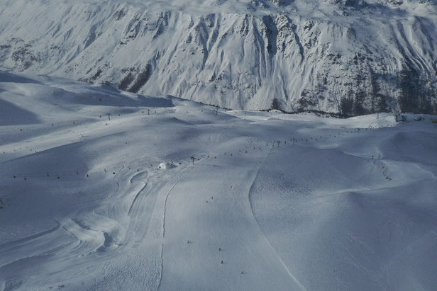 Obergurgl-Hochgurgl - Great conditions on Jan 25th - © Michael's iPhone