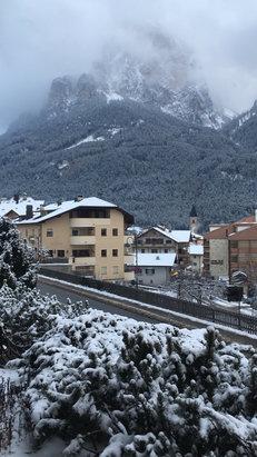 Alpe di Siusi / Seiser Alm - Nevica a Siusi allo Sciliar - © iPhone di Sabrina