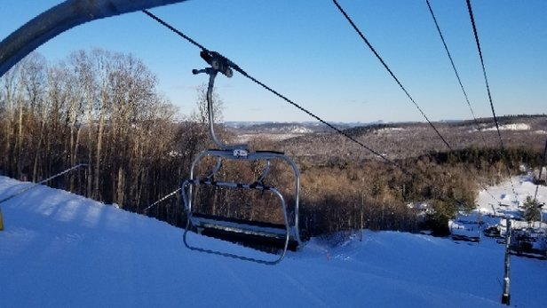 Gore Mountain - Just skied there today,  cold but excellent!  - © anonymous