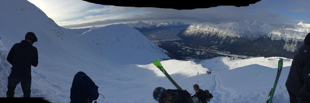 Alyeska Resort - Snowboarding at its best!! - © Marq's phone