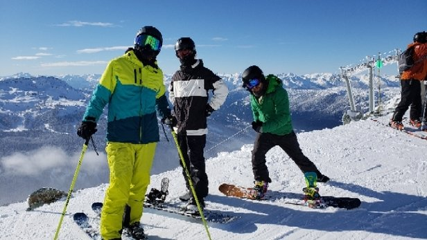Whistler Blackcomb - Good all day except last run. tomorrow's going to be better - © anonymous