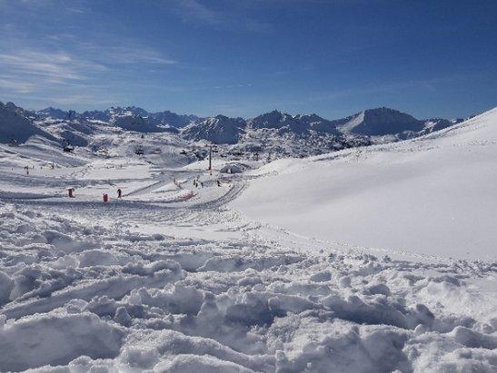 Les Arcs - top neige - © anonyme