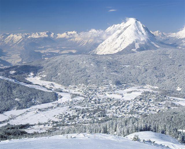 View of Leutashch, Austria