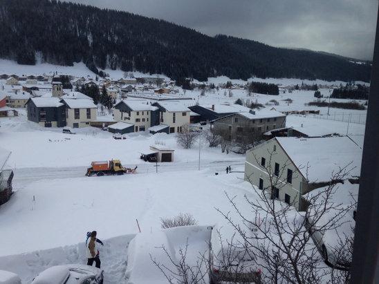 Les Rousses - Super encore de la neige  - © iPhone de Eric