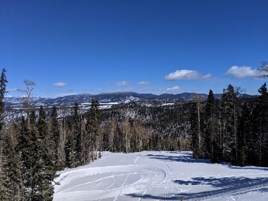 Angel Fire Resort - Good snow off the hike in runs. - © anonymous