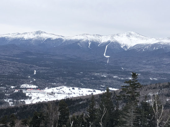 Bretton Woods - Excellent conditions today!