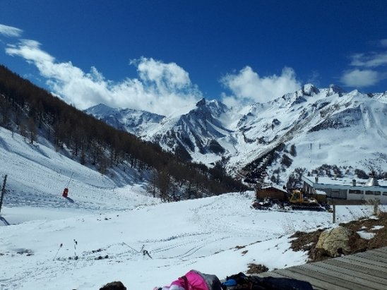Val d'Allos - La Foux - neige fra - © anonyme