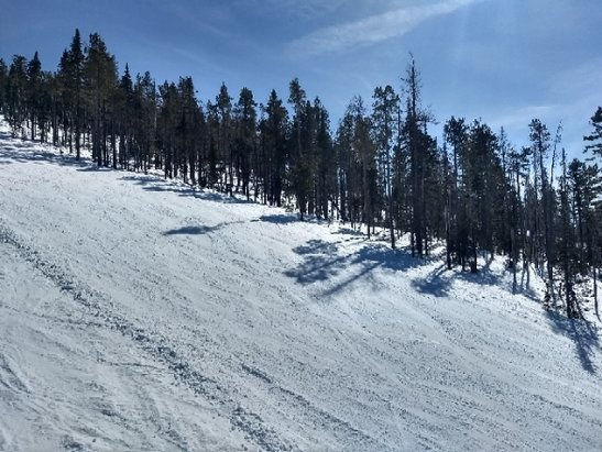 Mt. Spokane Ski and Snowboard Park - fabulous spring conditions, smooth, soft and fast - © jimmer