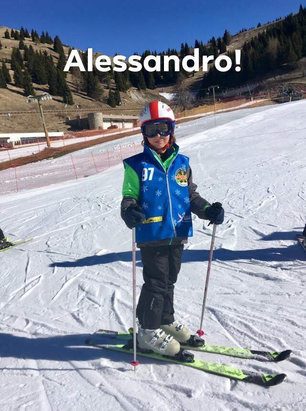 Alpe Cimbra - Folgaria - Lavarone - Mio nipote Alessandro (9/anni) per il quinto anno consecutivo sulle nevi di Folgaria - Fondo Piccolo  - © Andrea Pallotto