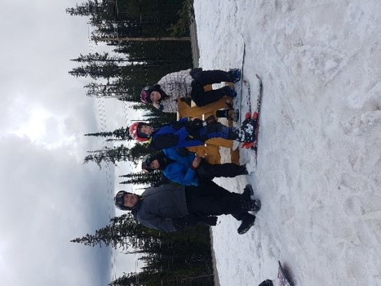 Big White - great day. fast snow.  - © jaque family
