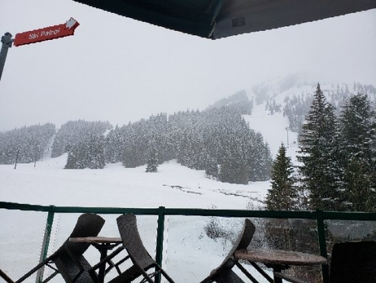 Crystal Mountain - Tough conditions today  - © anonymous