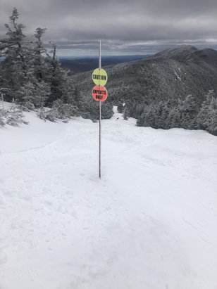 Sugarbush - Great spring skiing. No crowds.. 4 inches of new snow on top. Mash potatoes at bottom. Great day.. - © iPhone