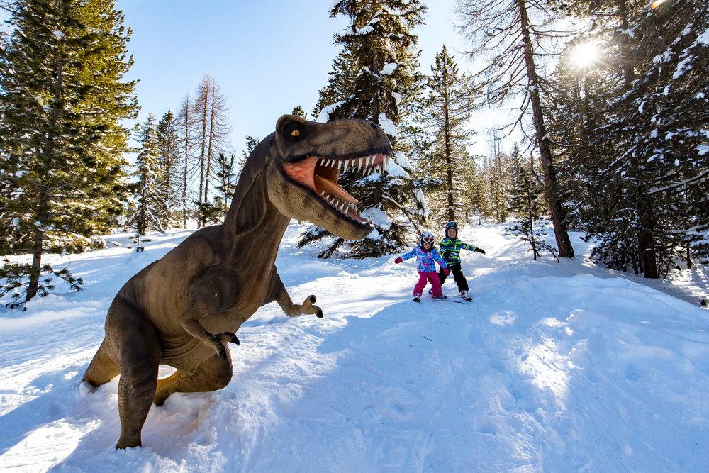 Der Dinopark in Kreischberg - © Kreischberg