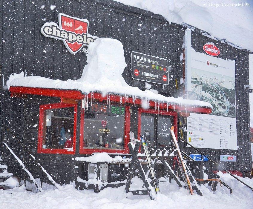 Winterbilder aus Chapelco - © Facebook Cerro Chapelco