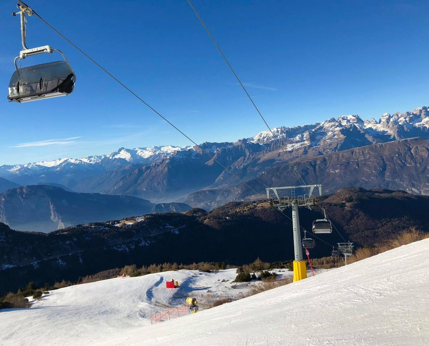 Gran Pista Rocce Rosse Monte Bondone - © Monte Bondone Live Facebook