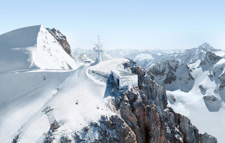 Projekt TITLIS 3020 na Titlise v Engelbergu - © Herzog & de Meuron