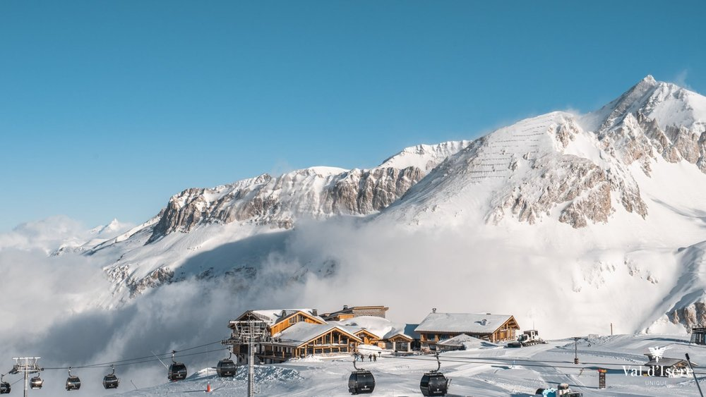 40cm+ of snow in Val d'Isere this week - © Val d'Isere/Facebook