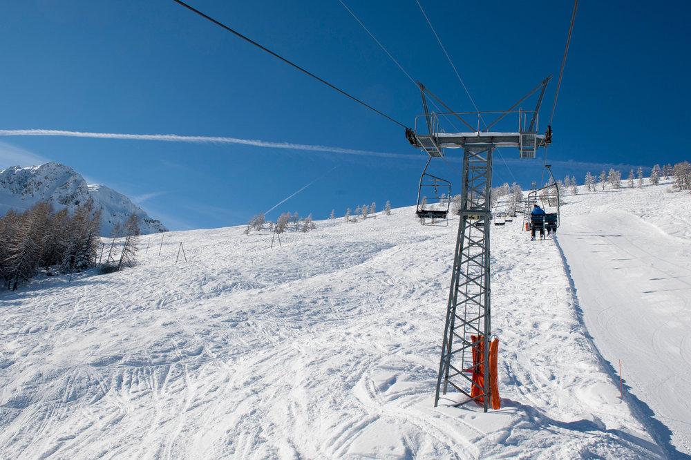Eindrücke aus dem Skigebiet Vichères-Liddes  - © Tele Vichères-Liddes