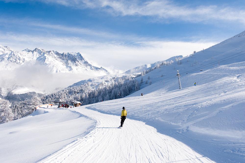 Traumhafte Winterlandschaft in Vichères-Liddes  - © Tele Vichères-Liddes
