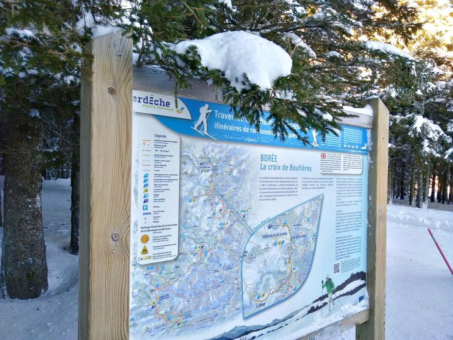 Pour le ski de fond, direction le domaine nordique du Mézenc - © Facebook @MezencLoireMeygal
