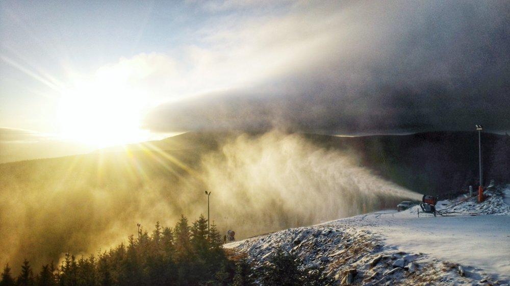 Naśnieżanie w Czarnej Górze - © Czarna Góra Resort