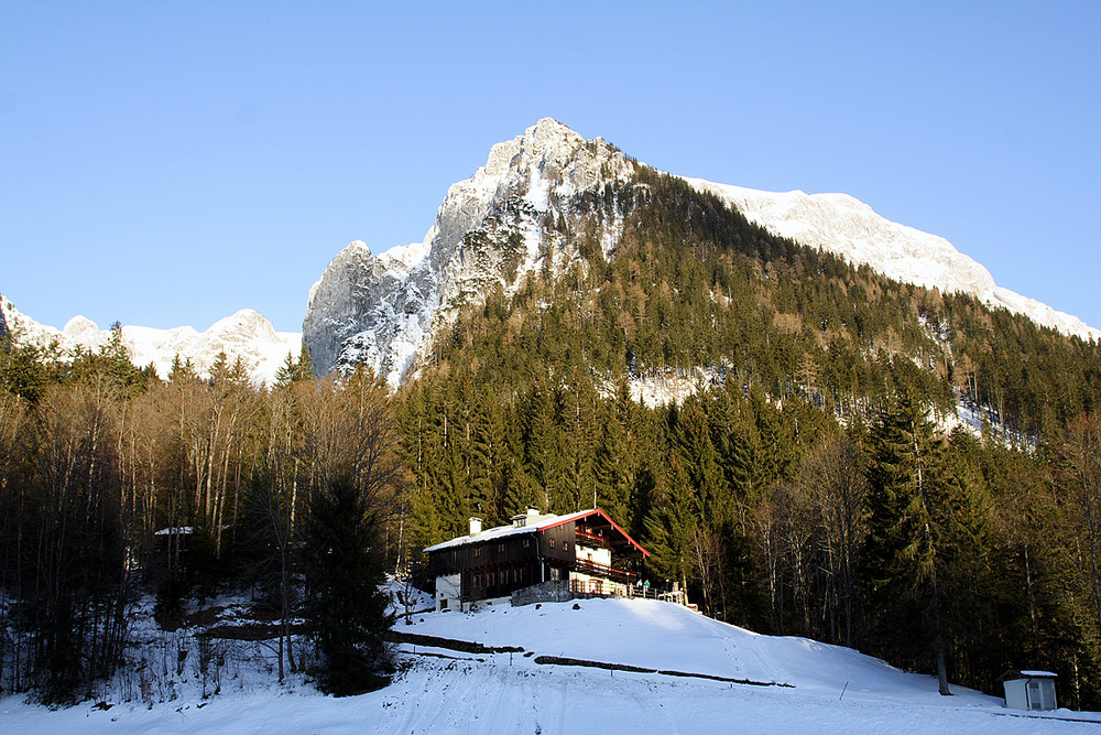 lodge at Berchtesgadener Land, Germany