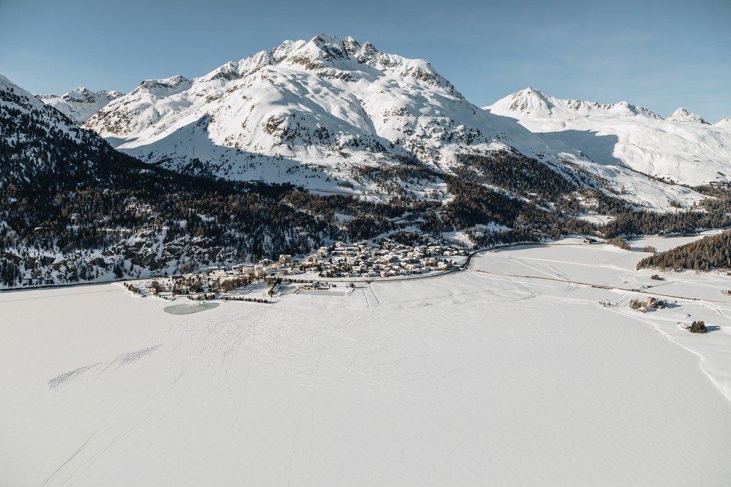 Silvaplana, Surlej  - © Engadin St. Moritz Tourismus | Fabian Gattlen