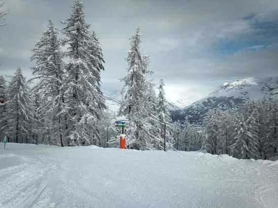 Puy-Saint-Vincent - 15 cm  de neige fra - © Aurore