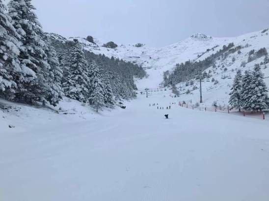 Val Louron - Quel plaisir de retrouver ce matin notre station de Val Louron sous son manteau blanc. - © Jérôme
