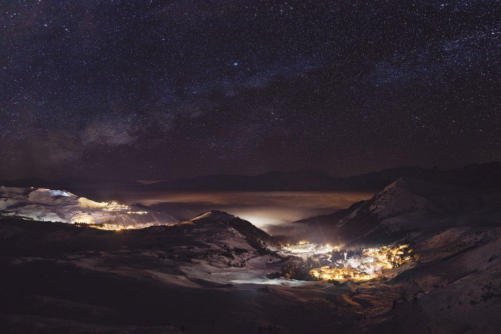 La Plagne-panoramique - © La Plagne/O-Allamand