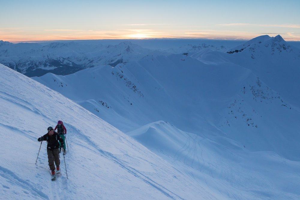 La Plagne ski de randonnée - © La Plagne/Pierre Augier