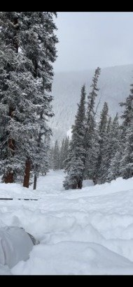 Keystone - Outback - knee deep in spots. Monday  ❄️❄️❄️ - © Anonymous