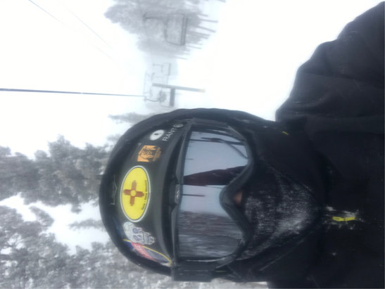 Angel Fire Resort - 10 inches this morning and still snowing ! I had to get the big boards out ! Awesome!   - © Anonymous