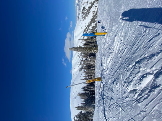 Sun Valley - 5 feet of new snow!  Blue sky day!  Best snow in years.   - © JAB