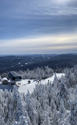 Okemo Mountain Resort - Great day at Okemo, good packed powder with powder on some glade trails, lift lines were about 20 minutes at the longest but not terrible for a Sunday. - © Jack