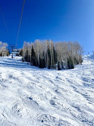 Steamboat - Skied 1/31-2/3, really decent conditions considering the limited snowfall this season. Lift lines non-existent during the week. Two thumbs up.  - © Michael Kochera