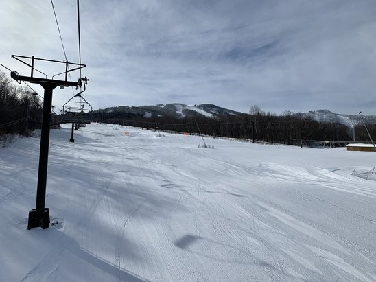 Killington Resort - Fresh snow, no lines, no waiting, Covid safety in place. Awesome conditions and all runs open! Doesn't get much better then this!  - © Patti