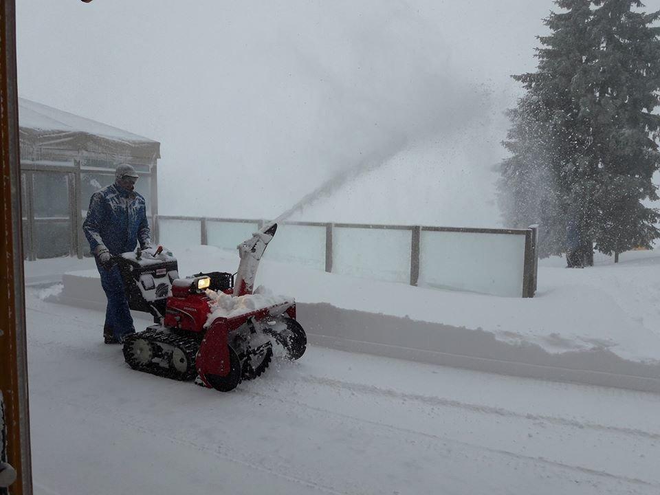 Knapp 40cm Neuschnee in der Wildschönau - © Facebook Wildschönau