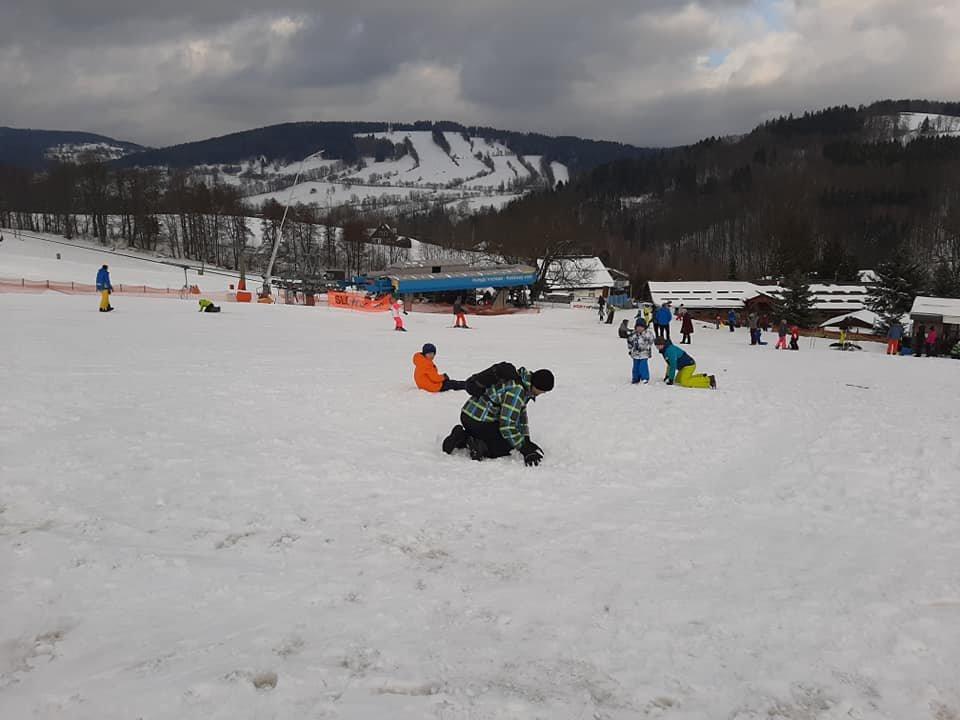 Skiareál Vrchlabí Kněžický expres 27.2.2020 - © facebook | Skiareál Vrchlabí Kněžický expres