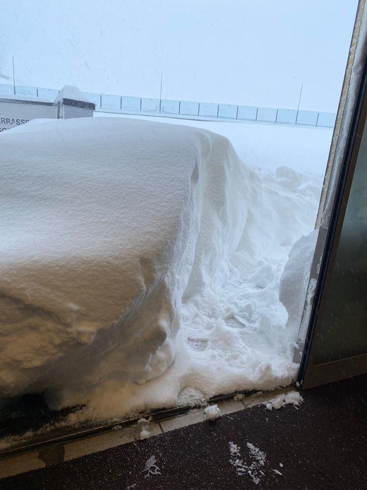 Aus Ischgl meldete man auch einen knappen halben Meter Neuschnee - © Facebook Ischgl