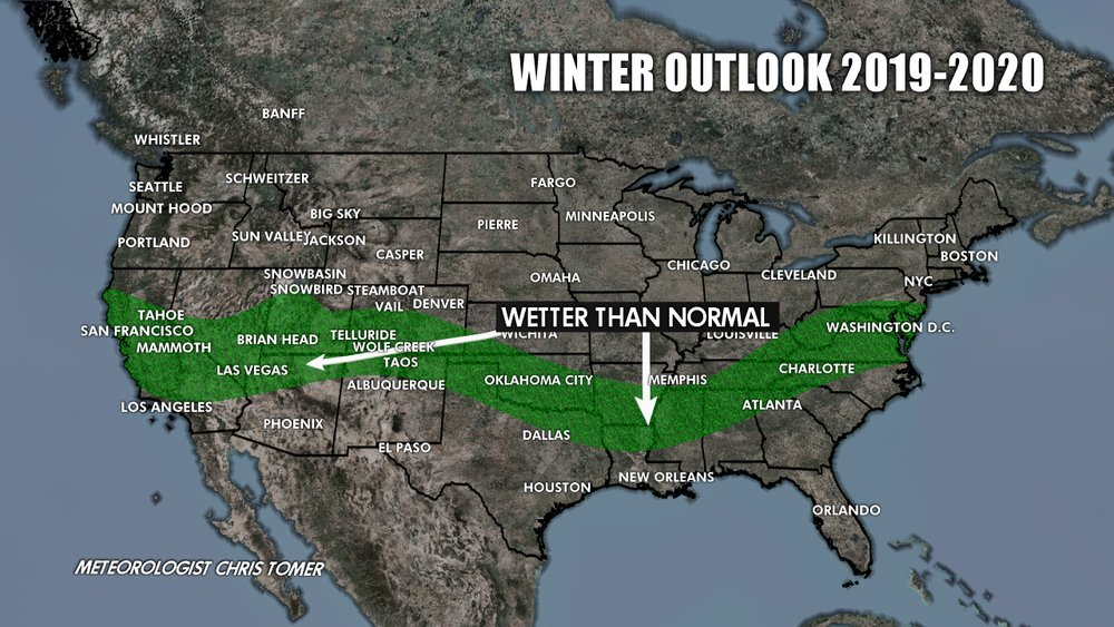 Winter outlook For 19/20 - © Chris Tomer