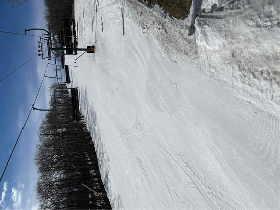 Wintergreen Resort - Great day for skiing.  Good conditions....no crowds, no wait  - © G Jones