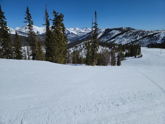 Monarch Mountain - Great packed powder. No bare spots  - © Brian A