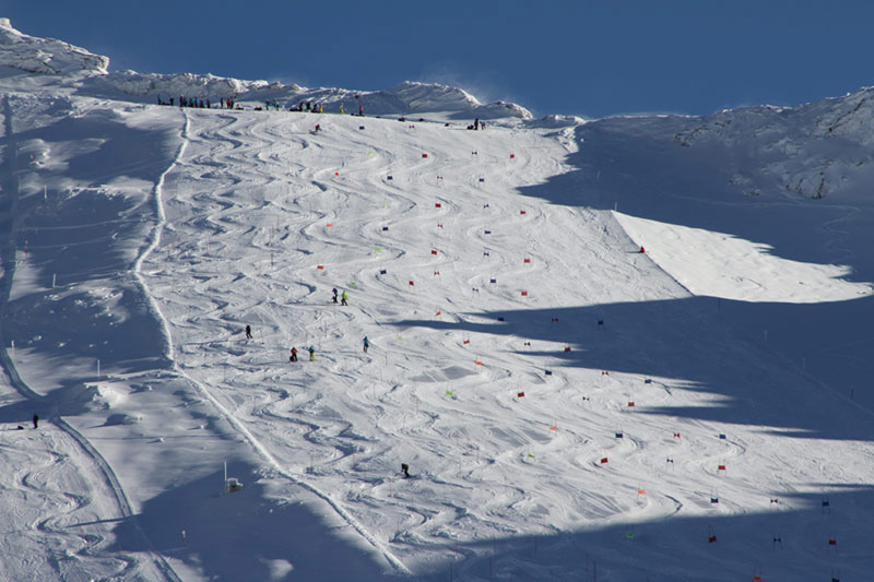 Blick auf den Mölltaler Gletscher - © Skiinfo.de
