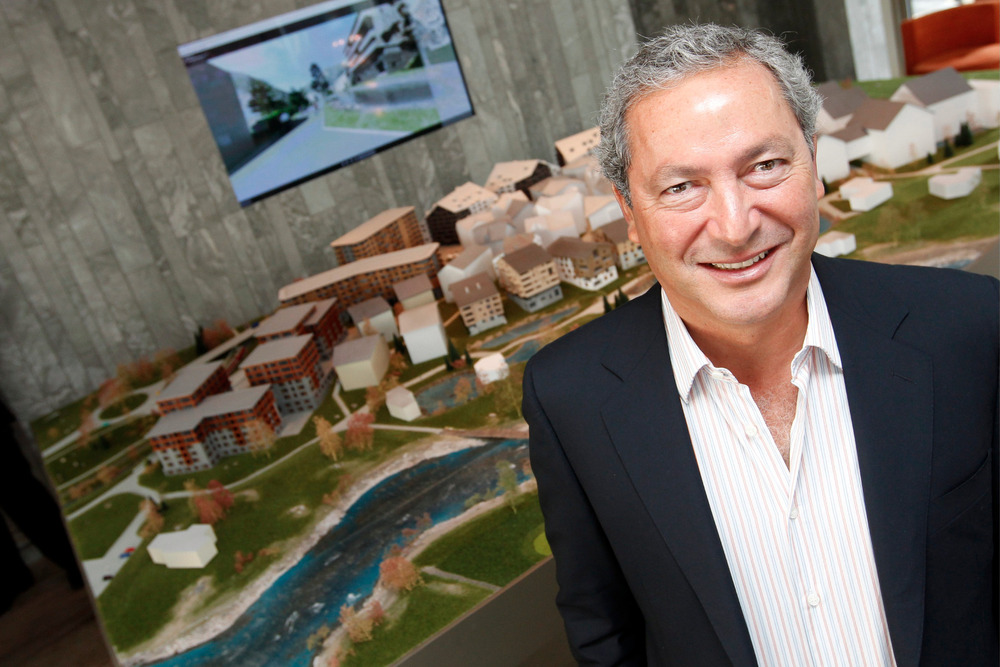 Den egyptiske milliardæren Samih Sawiris - © Andermatt Swiss Alps