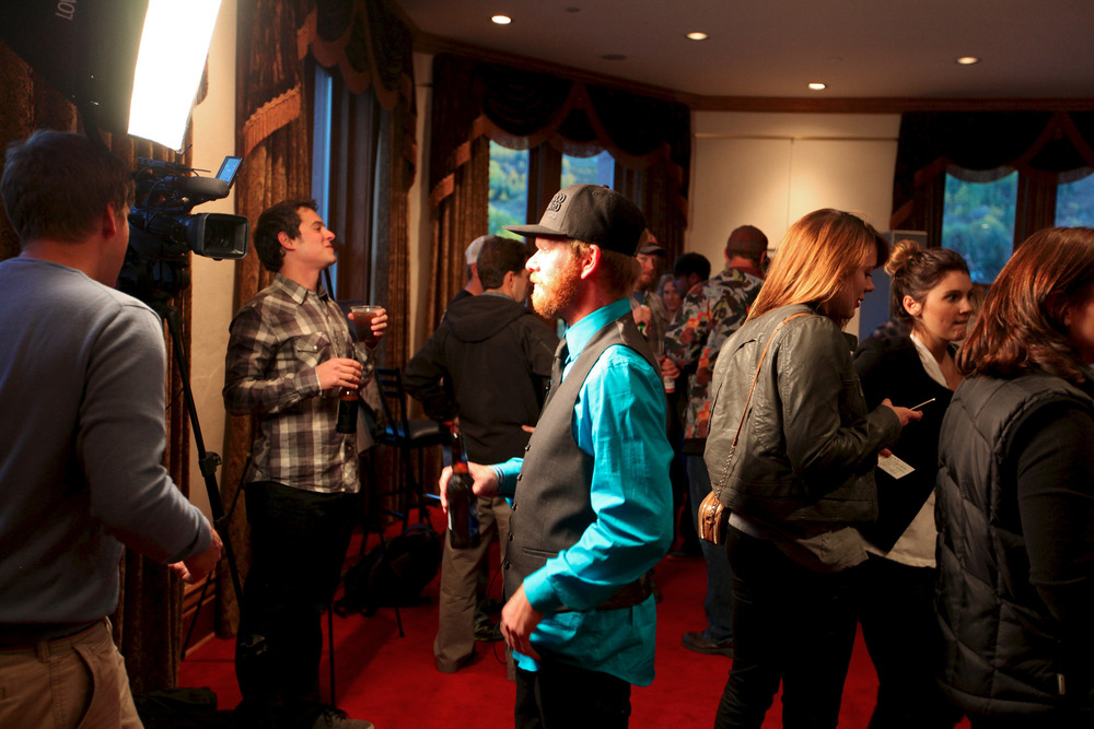 Local filmmakers submitted short films at the NEPSA Awards - © Tim Shisler