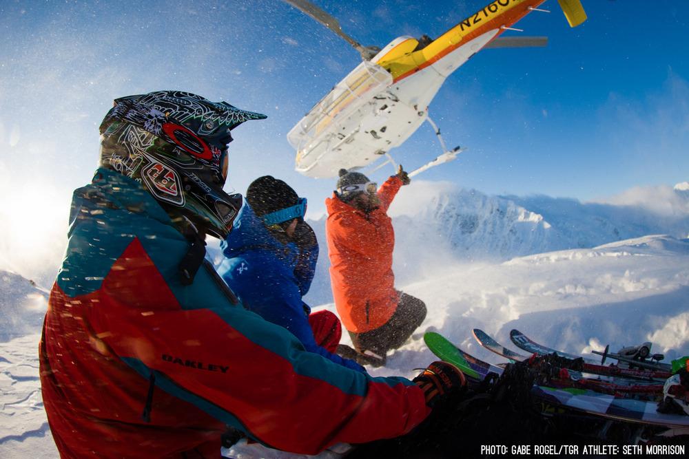 Seth Morrison in Alaska for TGR's Dream Factory - © Gabe Rogel