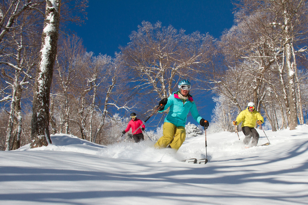 Christmas powder at Okemo Mountain Resort - © Brian Moore
